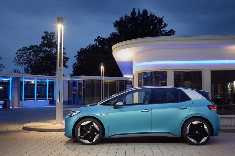 Voiture électrique VW ID3