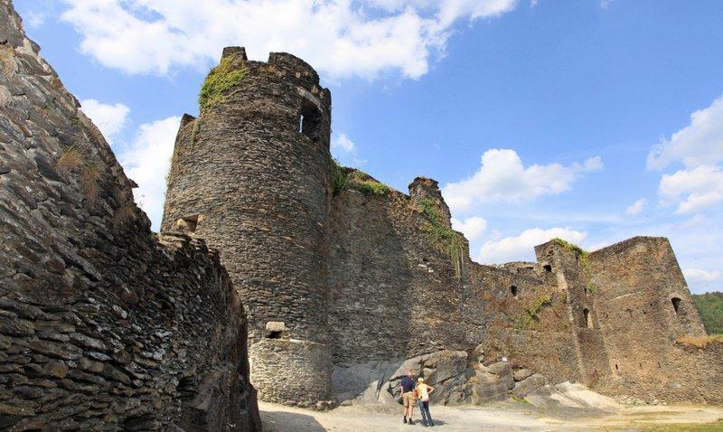Le château de La Roche à La Roche-en-Ardenne
