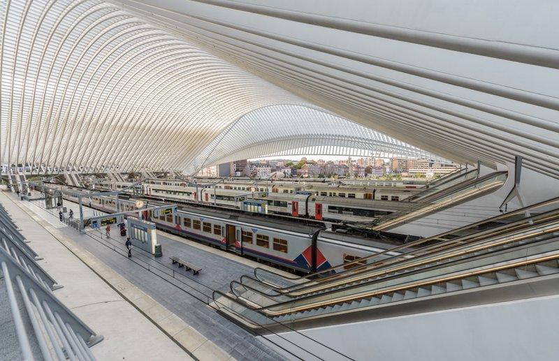 La gare de Liège-Guillemins Calatrava