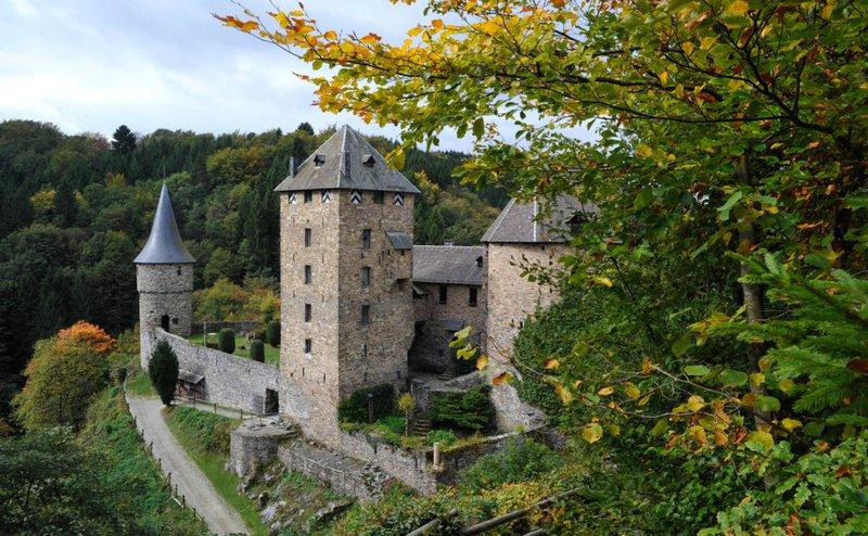 Le château de Reinhardstein.