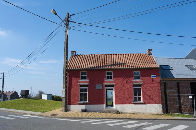 Het huis van Van Gogh in Wasmes (Colfontaine)
