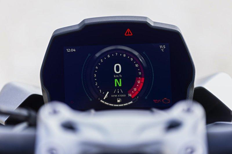 Triumph Speed Triple RS dashboard