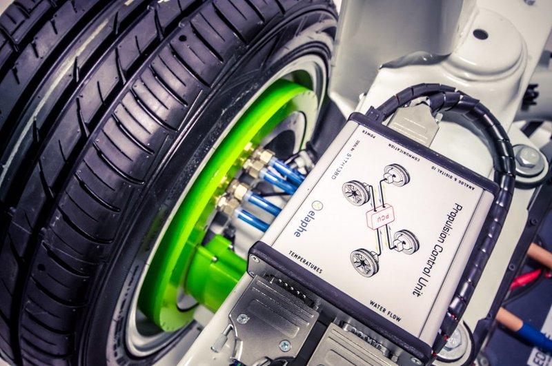 roue à moteur électrique intégré