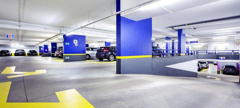 parking à l'aéroport de zaventem