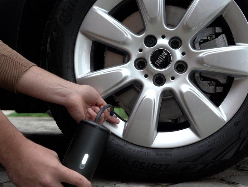 Coolado tPump X car tire