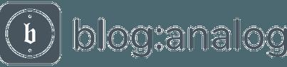 blog:analog